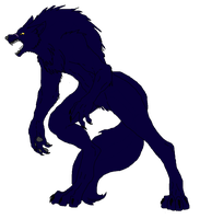 Amicus: Werewolf Form by YoungMuffinsTheScout