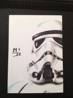 Stormtrooper sketchcard by MikimusPrime