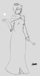 Rosalina (Rough Sketch) by Psych0Dog