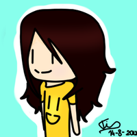 Chibi me OuO by Hawkdei