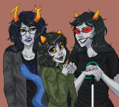 homestuck challenge day 2 by Yoccuri