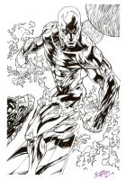 Silver Surfer by RyouKugaInk