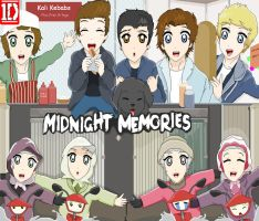 One Direction Midnight Memories by OneDirectionFanJohn