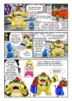 Princess Mario - Page Eighteen by FieryJinx