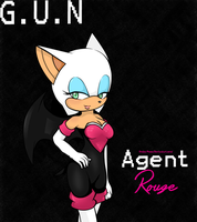 Agent Rouge. by icefatal