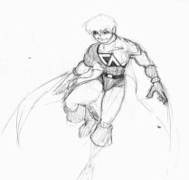 The Caped Avenger by Heckfire