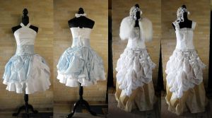 Fairy Wedding Dress by Naraku-Sippschaft