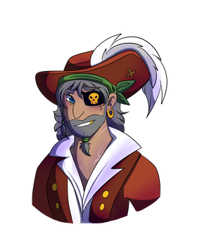 He's a pirate by kittycat5678