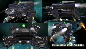 Olympian Star Cruiser by Yggdrassal