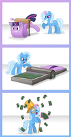 Money Conversion, From Twilight to Riches by MistressCelestia
