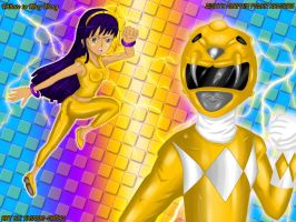 Tribute to Yellow Ranger by Shinobi-Gambu