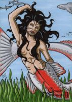 Sedna AP Sketch Card - Classic Mythology II by ElainePerna