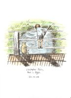 Christopher Robin Pooh Piglet by 121dancinbeanaho