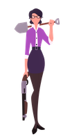 Miss Pauling- Gets the work done by Nara-chann