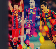 GOLDEN BLAUGRANA, MASIA D'OR by carlahere