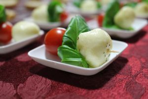 Tomato and Mozzarella Bites by DanikaMilles