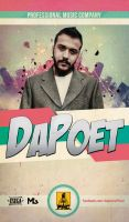 Da Poet Poster by ManiaGraphic