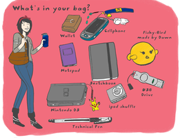 What's in my bag by sugarfairy7
