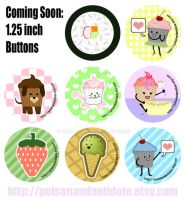 Buttons Designs by chat-noir