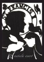 Saint Francis Silhouette by natamon