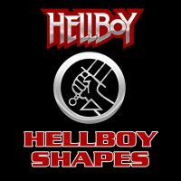 Hellboy Vector Shapes by Retoucher07030