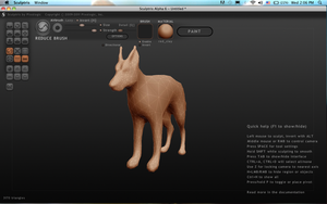 First 3D Mesh EVER~!!! (I'm so proud~!) by VexiWolf