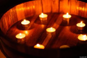 Pool of Candles by KuroDot