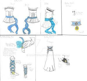 100th Deviant: Magical Girl Outfit: Level Sun by Halowing