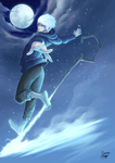 Jack Frost dancing by moogle-O-d00mage