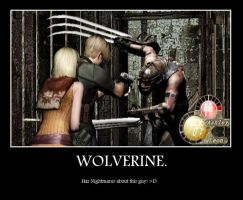 RE4 Motivational Poster by dragonmasterx10
