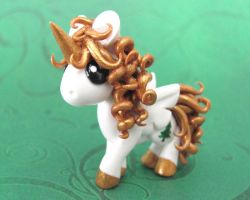 Unicorn Ornament by DragonsAndBeasties