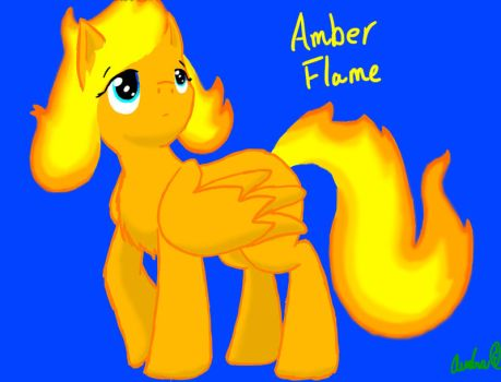 Amber Flame by Ask-Minish-Scarlet