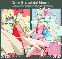Draw This Again Meme by CL0CHE