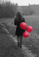 Three Red Balloons by sweet-lithium
