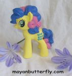G4 Bon Bon Custom Little Pony by mayanbutterfly
