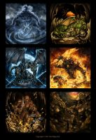MAGUS card illustration 2012 by Symerinart