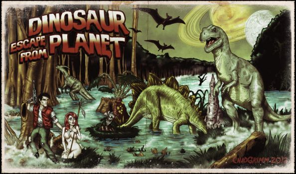 Escape From Dinosaur Planet by ChadGrimm