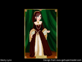 Anne Boleyn Inspired by BeckyPennArt