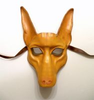 Pharaoh Hound Leather Mask by teonova