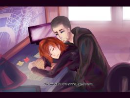 + Reapers Gone, Shepard Sleeping + by Fiveonthe