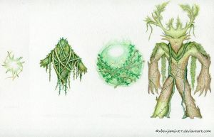 Earth Elementals by zbenjamin27