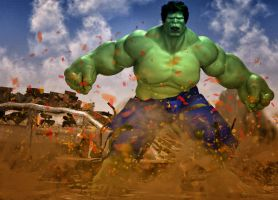 Incredible Hulk by hiram67