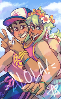 Greetings from Alola!! by Neomints