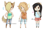 Chibi Adopts: OPEN [1,000 Points or $10] by Kuro-Creations