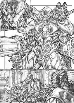 Avenger initiative page by pant