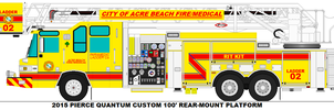 Acre Beach Fire/Medical Ladder 2 by MisterPSYCHOPATH3001