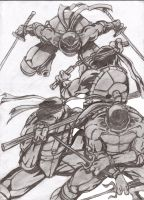 TMNT TATTOO DESIGN by Flam-On