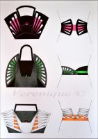 Bags and belts by Verenique