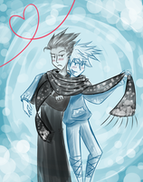 BlackIce Scarf Sharing by FrostyOreos