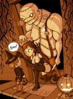 Trick R' Treat by ElBrazo
